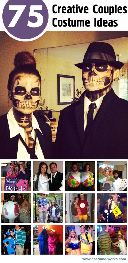 75 Creative Couples Halloween Costume Ideas. #Halloween #couples #costumes