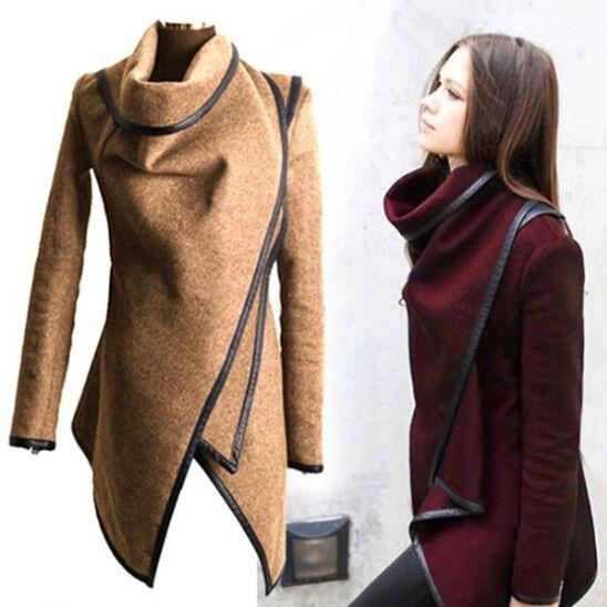 2015 casacos de inverno mulheres longo Cashmere casacos Trench Desigual Plus size mulher casacos de la Manteau Abrigos Mujer