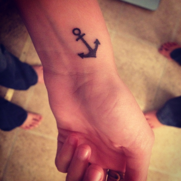 Small Anchor Tattoo - Want One On My Foot/ankle
