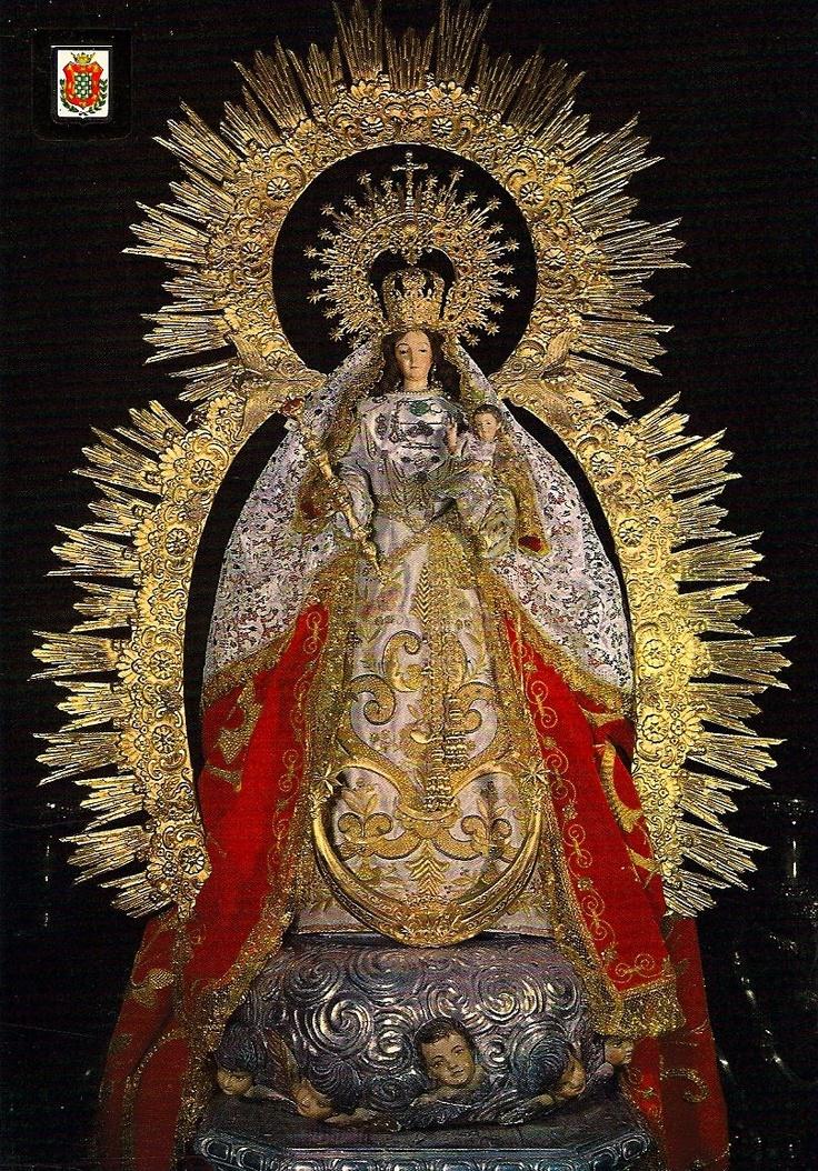 Virgen de Montemayor. Moguer (Huelva) Spain