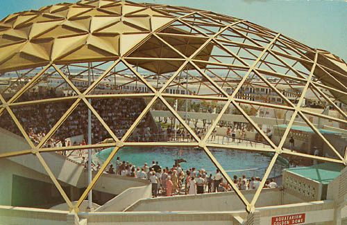 This was a tourist attraction on st pete beach when i - The geodesic dome in connecticut call of earth ...