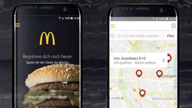 neue mcdonald s app das sind die besten funktionen