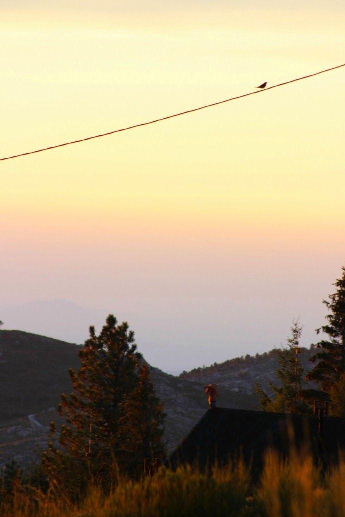 Deixa entrar o sol | Amanhecer em Manteigas :: Serra da Estrela | Portugal