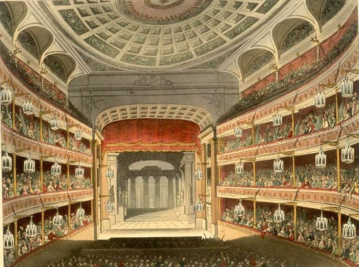 Victorian Theatres 1876 Victorian England Revisited