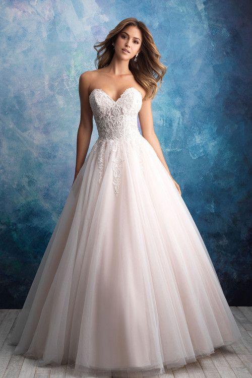 9565 Allure Bridals Allure Wedding Dresses Allure Bridal Gowns Wedding Dresses Strapless