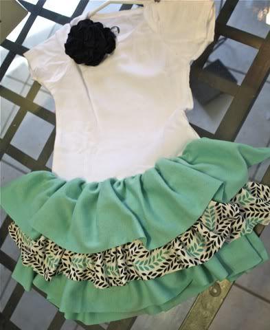 Easy make: Onesie Dress.... LOVE LOVE!!!