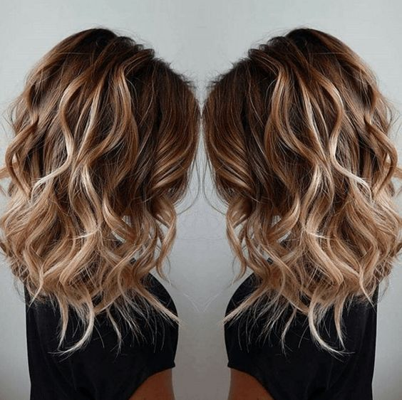 Fall Balayage Ombres