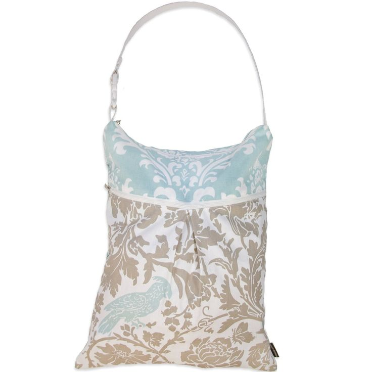 Logan + Lenora Daytripper Wet and Dry Tote - Large Cloth Nappy Wet Bag with Dry Pocket - Beach, Pool, Gym Bag for Swimsuits or Wet Clothes - Made in USA - Waterproof (Downtown Athenian): Amazon.co.uk: Baby