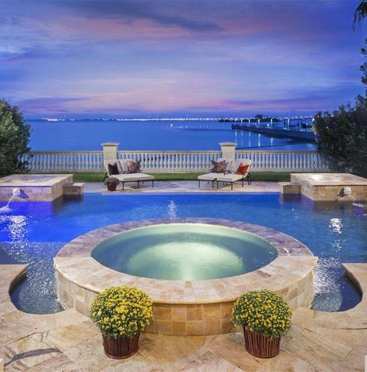 Outdoor Luxury Pool House: 188 Best Tampa Bay Luxury Home Magazine