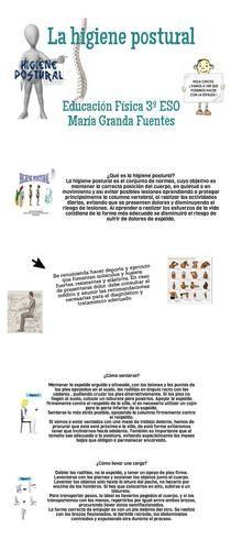 María Granda Fuentes. Trabajo educación física | Piktochart Infographic Editor