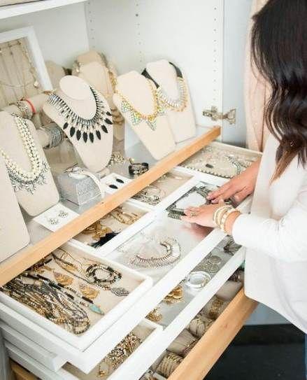 Apr 24, 2019 - 19 trendy Ideas for jewerly organizer closet diy jewellery storage
