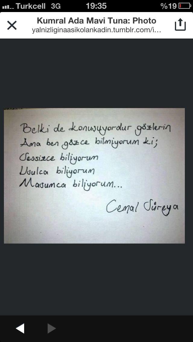 #şiir #cemalsüreya #cs