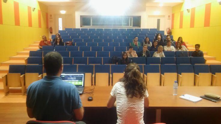 Apresentação da plataforma REDA na Escola Básica Integrada Francisco Ferreira Drummond (7 de outubro de 2016).