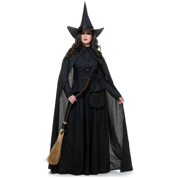 Wicked Witch Costume Adult Halloween Fancy Dress #Charades $76