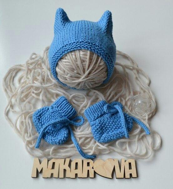 Kitty hat,шапка кошка,чепчик сеицами,пинетки