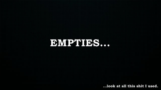 GleeTree92: Empties #6