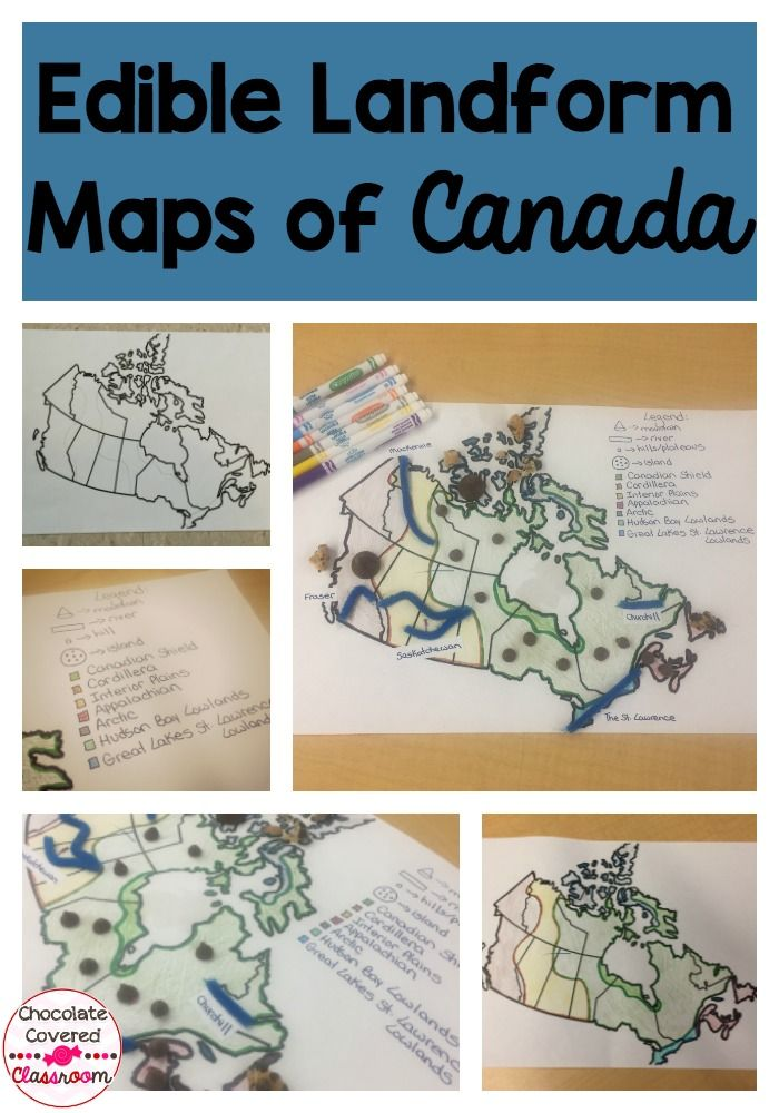 Canadian Map Before Confederation%0A Geographical Regions of Canada Landform Map Project