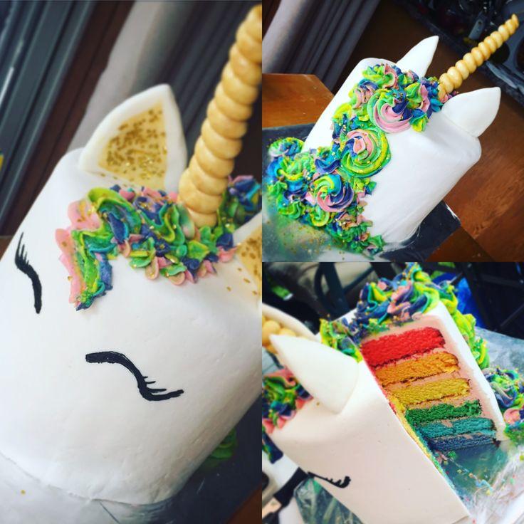 Unicorn Cake, Rainbow Cake !