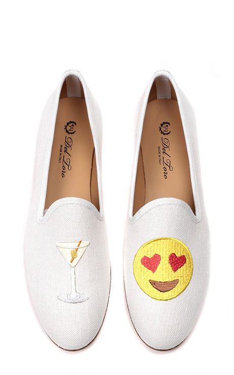 Del Toro Canvas Emoji Loafers outlet pre order deals for sale reliable cheap online PIlc8Zn