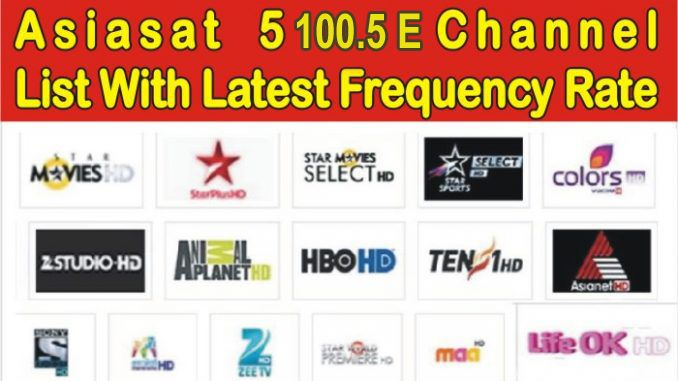 Asiasat 5 Satellite 100 5 East Frequency 2020 Frequencies Channel Tv On The Radio