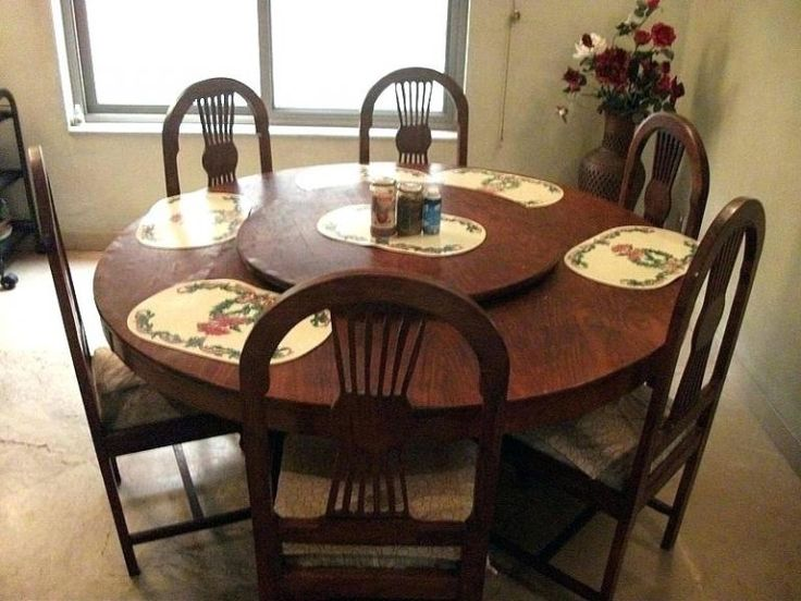 Solid Oak Dining Table, Used Dining Room Table Sets
