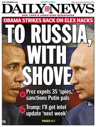 The Obama administration struck back against Russia on Thursday for meddling in the 2016 election, kicking out dozens of spies and imposing sanctions against its intelligence services. Four top officers with the GRU, Russia's main intelligence agency, were also sanctioned.