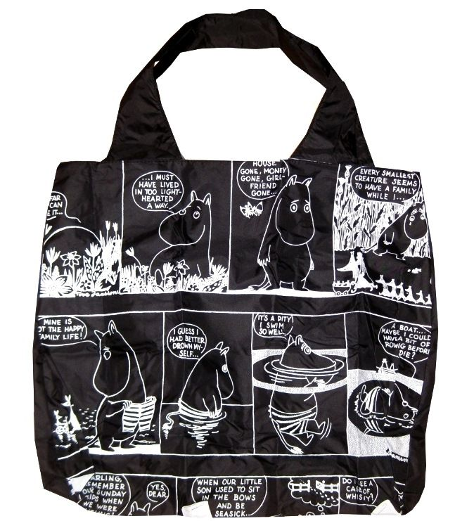 Muumi Eco Bag Muumi sarjakuva