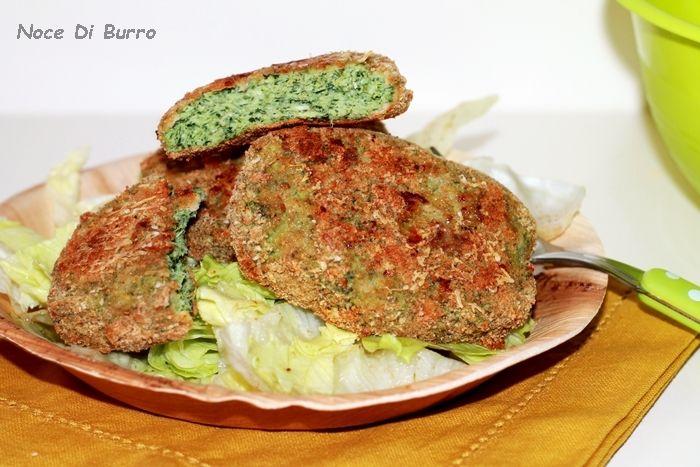 Hamburger+di+pollo+e+spinaci