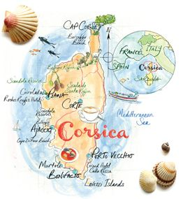 Corsica according to Garance Dore