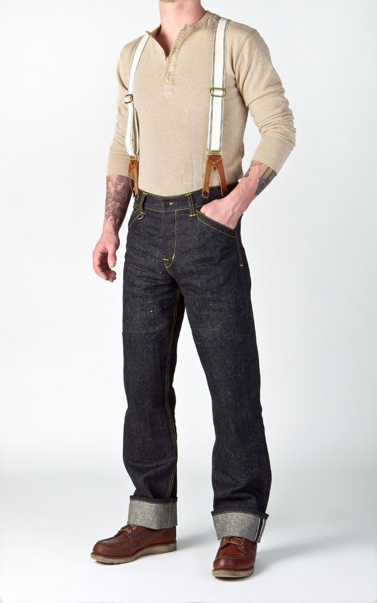 Pike Brothers 1908 Miner Pant Indigo Hemp Denim 14oz