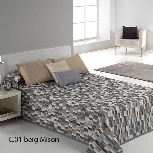 Si eres de esas personas que te encanta estar a la última, tenemos para ti el complemento perfecto para tu dormitorio, la colcha de verano Mison de Reig Martí.