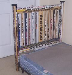 hockey stick bed