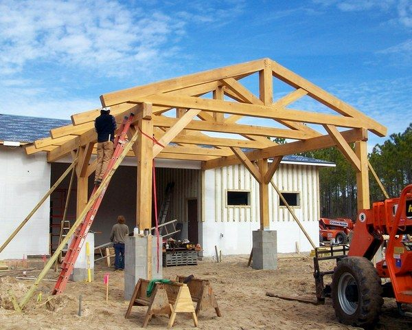 1000 Images About Post And Beam On Pinterest Carport