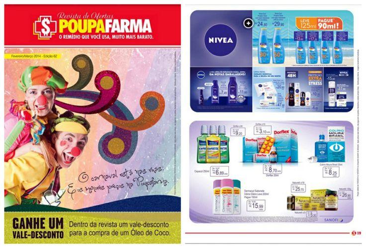O carnaval está chegando e, além das festas, você também pode aproveitar as ofertas exclusivas da Poupafarma! Veja o o folheto completo aqui: http://www.guiato.com.br/Encarte/Sao-Paulo/PoupaFarma/25986907  #ofertas #Poupafarma #remedios #descontos