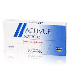 Acuvue Bifocal  Acuvue Bifocal zijn bifocale weeklenzen. Bifocale lenzen vormen een alternatief voor de leesbril. Ze helpen het oog op verschillende afstanden te focussen door de verschillende sterktes in de verschillende delen van de lens. Acuvue Bifocal lenzen hebben vijf onzichtbare zones in de lens die het oog helpen te focussen waar u wilt. Ze zijn gekleurd voor eenvoudigere hantering en beschermen de ogen tegen de schadelijke UV-stralen van de zon.  Weeklenzen kunnen 1-2 weken worden…