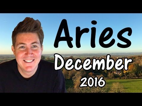 ARIES HOROSCOPE FOR DECEMBER 2016!! This free horoscope applies to the star sign Aries, born March 21 – April 19, and is aimed at Sun Sign Aries and …