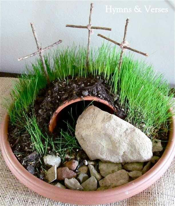 This would be cool to make with the kiddos and talk about the real meaning of Easter.