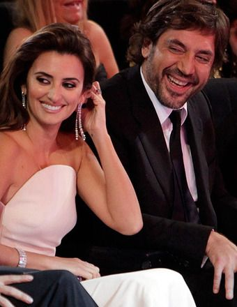 Penelope Cruz and Javier Bardem are such a beautiful couple. We had a formal fete the night before they left................