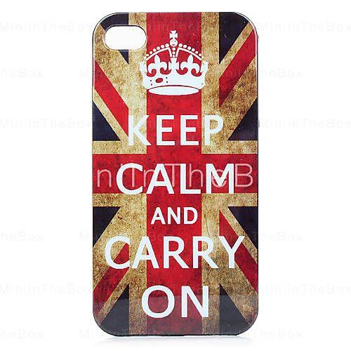 England Flagg Case for iPhone 4 og 4S