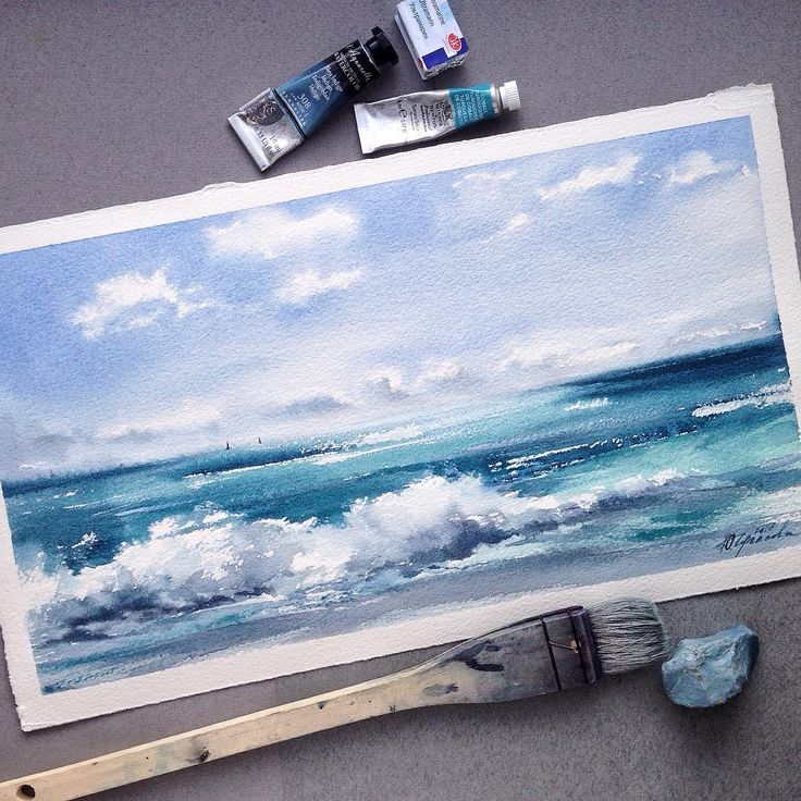 "1,236 Likes, 46 Comments - Yulya Cherkasova (@yulyacherkasova) on Instagram: "" Бумага: Saunders Waterford, 33*18"""
