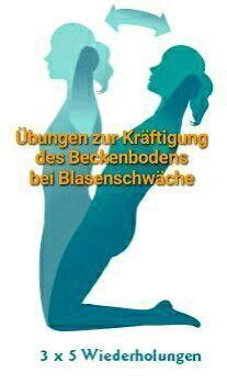 Beckenbodengymnastik bei Blasenschwäche gut für den #garten und Gärtner – Angela Raff