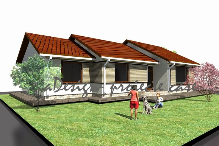 proiecte case, constructii, design: locuinta individuala cod 08Li