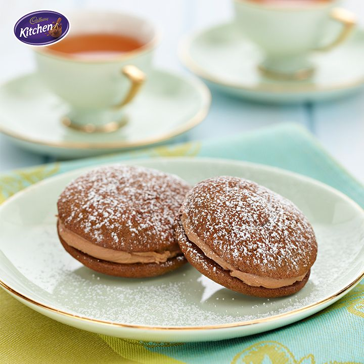 Happy #GrandparentsDay! Why not thank them for spoiling us over the years with these #Chocolate Whoopie #Pies? They're sure to bring back some #memories! #BournvilleCocoa To find out more about #CADBURY #BournvilleCocoa visit https://www.cadburykitchen.com.au/products/view/bournville-cocoa/
