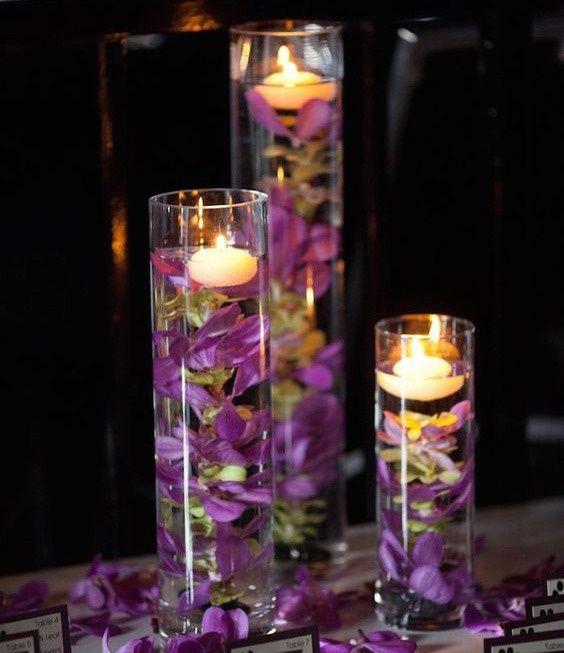 Плавающие свечи: подборка / Освещение / ВТОРАЯ УЛИЦА
