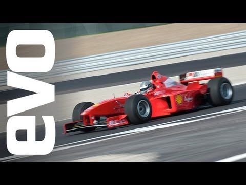 What is it like for an average car fan to drive a #Ferrari #F1 car? #Evo find out.