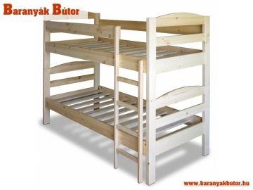 Emeletes ágy rendkívül kedvező áron!  http://www.baranyakbutor.hu/index.php?menu=fenyo-bukk-es-nyirfabutorok&id=emeletes-agy