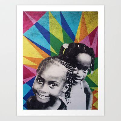 Gials Art Print by Daniel Jackman - $19.76