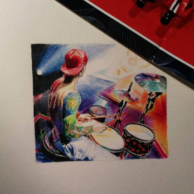Josh Dun |-/ Drums Clique Art |-/