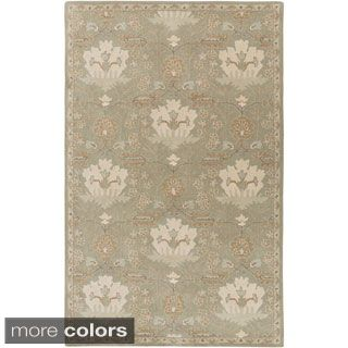 Shop for Hand-Tufted Widnes Floral Wool Rug (6' x 9'). Get free shipping at Overstock.com - Your Online Home Decor Outlet Store! Get 5% in rewards with Club O!