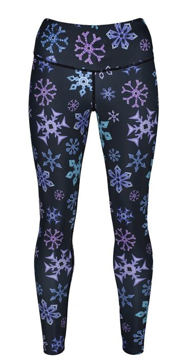 f64a44e1dda98 Pin by Louise Claire on Tikiboo and friends in 2019   Snowflake leggings,  Leggings, Christmas leggings